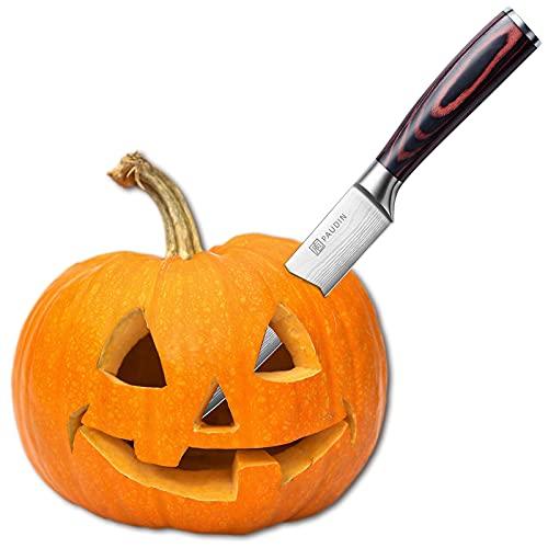 Halloween Carving Knife - PAUDIN Razor Sharp Slicing Knife, 8 Inch Sushi Knife, High Carbon...