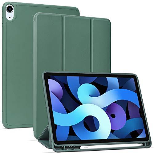 Migeec Custodia per iPad Air 4 generazione 10.9 (2020) Custodia - verde