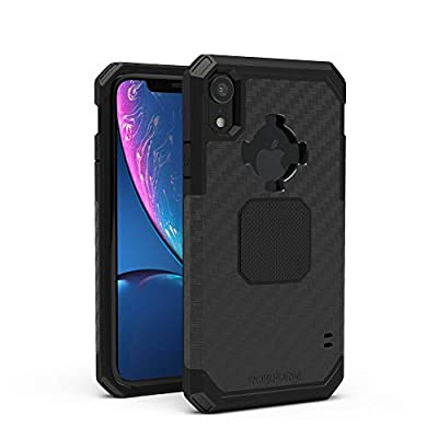 Rokform - iPhone XR Magnetic Case with Twist Lock, Military Grade Rugged iPhone Case Series (Black)