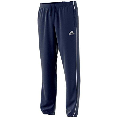 Adidas Core 18, Pantaloni Uomo, Blu (Blu Scuro/Bianco), M