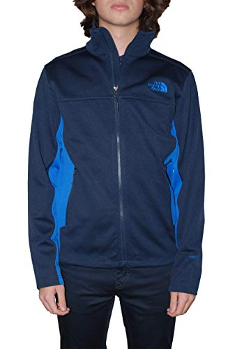 The North Face Men's Apex Canyonwall Soft Shell Jacket, Urban Navy/Turkish Sea, Small