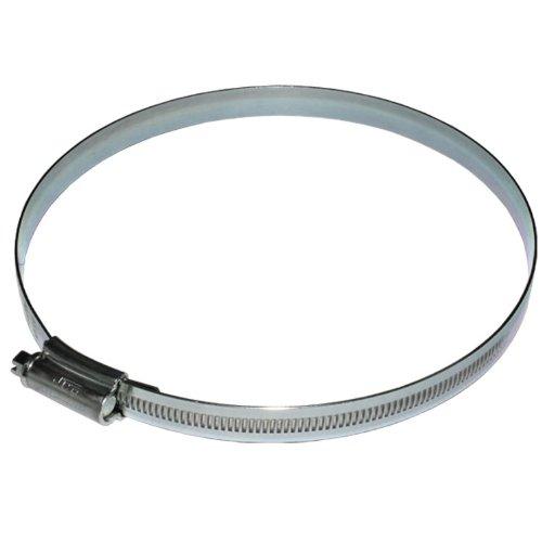 Lot de 20 colliers de serrage JCS Hi-Grip - Taille 160 - Plaqué zinc - 130-160 mm - Jubilé Type 7