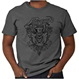 Rock and Roll Vintage Poison 80s Unisex T Shirt Charcoal