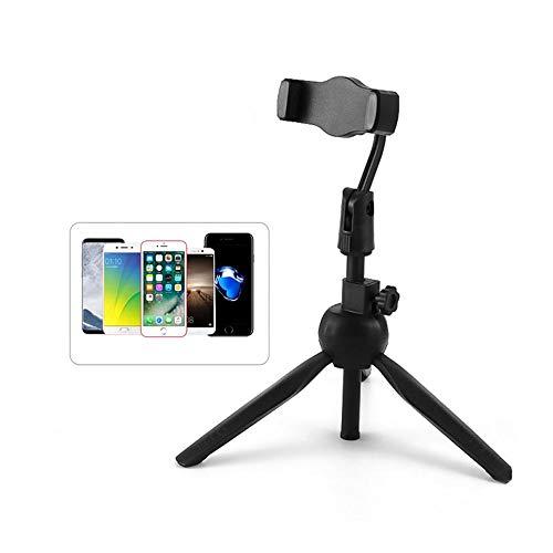 JINHU Ajustable Escritorio Multifunción Rotación Universal De 360° Trípode para Teléfono Móvil Adecuado para Teléfono Móvil Cámara Réflex Selfie De Múltiples ángulos
