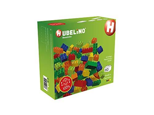 Hubelino 400383 60-teiliges Set Bausteine, kompatibel