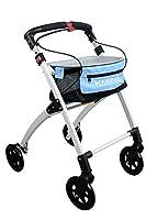 KMINA - Andador KMINA PRO, Andador para adultos, Andador para mayores de alum...