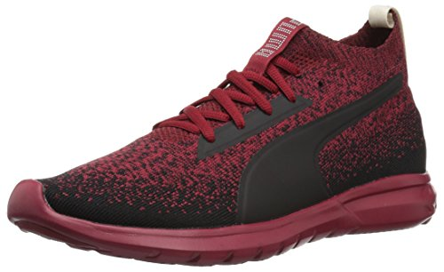 PUMA Men's Vigor Evoknit FS Sneaker, red Dahlia Black, 9.5 M US