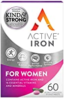 Active Iron & B-Complex Plus For Women 30 Iron Tablets & 30 Vitamin B Tablets   Iron Supplement With Vitamin B Complex...