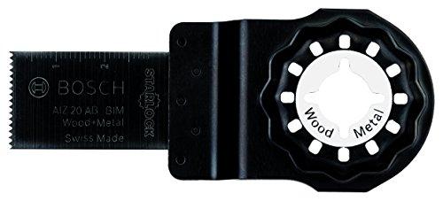 Bosch Professional Tauchsägeblatt Holz und Metall für Multifunktionswerkzeuge Starlock (AIZ 20 AB)