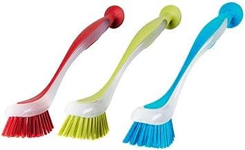 Ikea 301.495.56 Plastis Dishwashing Brush, Assorted Colors, Set of 3