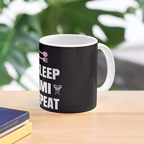 Soccer Eat Miami Funny Gift Mug Florida Inter Meistverkaufte Standardkaffee 11 Unzen Geschenk Tassen für alle