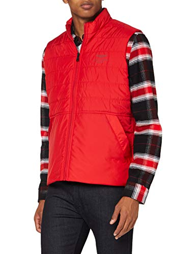 Hackett AMR Gilet Veste sans Manches, Rouge (Race Red 261), Large Homme