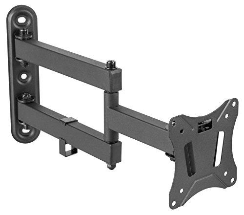 RICOO Monitor-Wand-Halterung Schwenkbar Neigbar -S7211- Universal 13-27 Zoll (bis 25-Kg & VESA 100x100) Curved TFT LCD OLED PC Bildschirm-Schwenk-Arm
