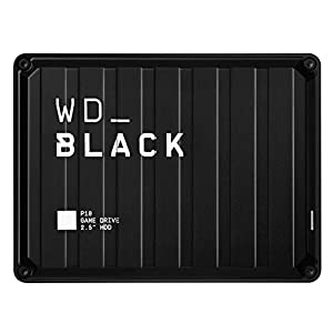 WD_BLACK 5TB P10 Game Drive - Portable External Hard Drive HDD, Compatible with Playstation, Xbox, PC, & Mac - WDBA3A0050BBK-WESN