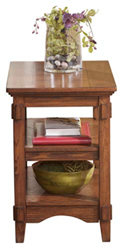 Signature Design by Ashley Cross Island End Table (.Rectangular End Table)