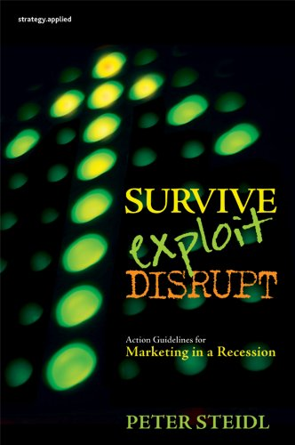 Survive, Exploit, Disrupt: Action Guidelines for Marketing in a Recession (English Edition)