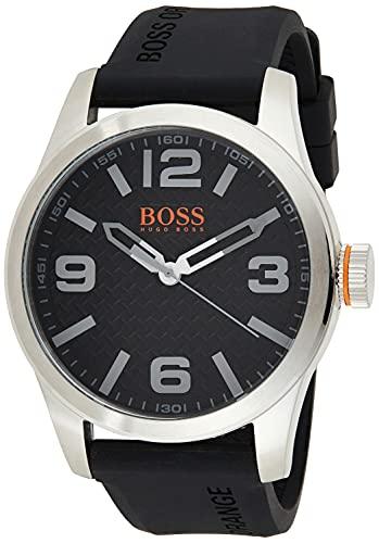 Hugo Boss Orange 1513350 Orologio al quarzo da uomo, display analogico classico e cinturino in...