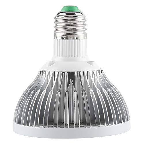 Gransun Bombilla de luz LED para Cultivo de bajo Consumo de energía, Fuerte y Duradera, Bombilla LED E27 78 Protección Ambiental para Plantas de Interior Horticultura de Bricolaje