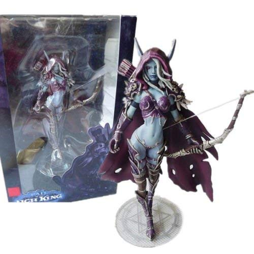 World of Warcraft Forsaken Queen Sylvanas Windrunner Action Figure Kid Toy 5.5' dd2