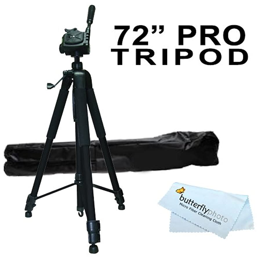 Professional PRO 72 Super Strong Tripod With Deluxe Soft Carrying Case For The Flip UltraHD Video Camera - Black, 8 GB, 2 Hours (3rd Generation) NEWEST MODEL + BP MicroFiber Cleaning Cloth