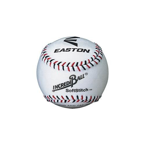 Easton Softstitch Incrediball Soft Baseball White 9 Inch