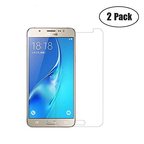 JayTong 2PCS Clear Protector de Pantalla de Vidrio Templado para Samsung Galaxy J7 Neo J701/J7 Core/J7 Core 2017/J7 Core Duos/J7 Nxt SM-J701F/DS