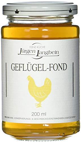 Jürgen Langbein Geflügel-Fond, 6er Pack (6 x 200 ml)