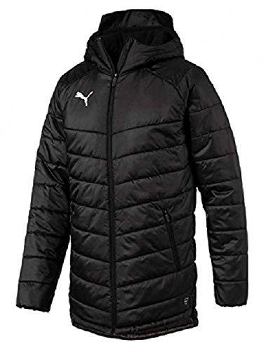 Puma Liga Sideline Bench, Giacca Tuta Uomo, Black/White, L