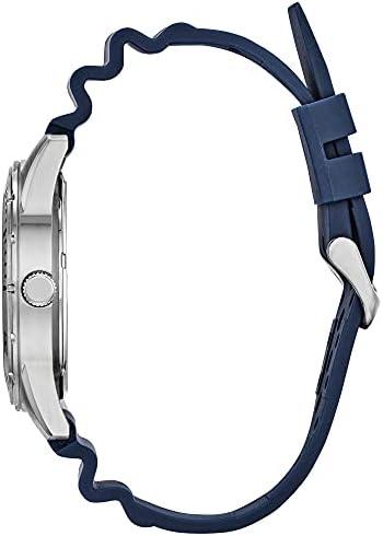 Citizen Quartz Mens Watch, Stainless Steel with Polyurethane strap, Casual, Blue (Model: BI1041-22L) WeeklyReviewer