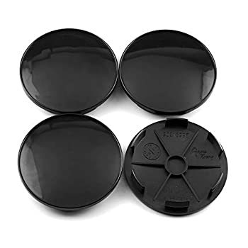 RTRHINOTUNING 68mm 2.68in /62mm 2.44in  Black Car Wheel Center Hub Caps Set of 4 for XXR 530 XXR 557 RS5 RS6#18120405SP #18120409SP #18120422SP