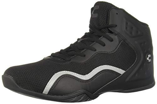 CHARLY 1038062 Zapatillas De Baloncesto para Hombre, Color Negro, Talla 25.5