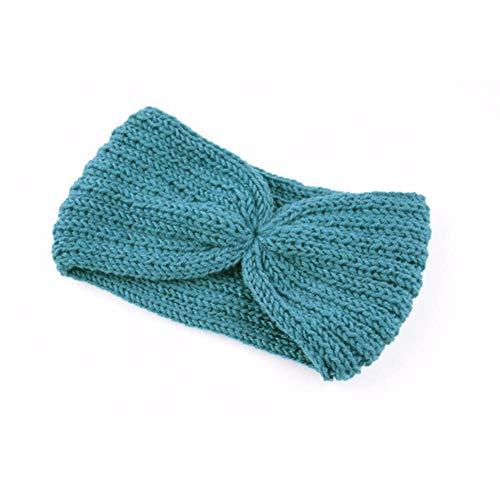 Sosa Winter-Ohrenwärmer, Haarband, elastisch, Wolle, gestrickt, für Mädchen, elegant, 14 Stück
