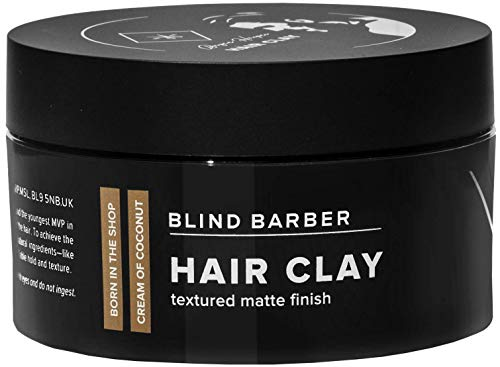 Beauty Shopping Blind Barber Bryce Harper Hair Clay – Volumizing Styling Paste for Men, Strong
