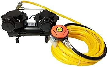 HPDMC Oil-Free Hookah Dive System Serface Vacuum Pump for Snorkeling (120W)