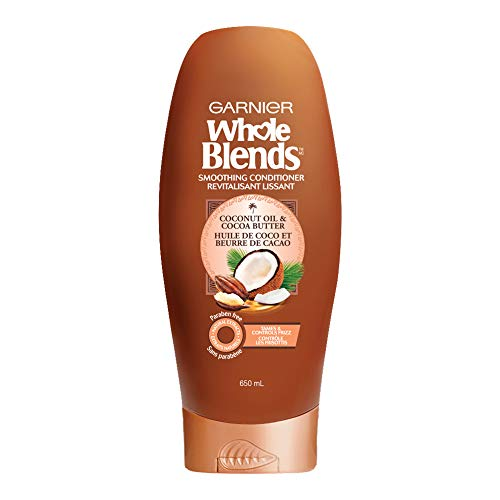 Garnier Whole Blends Conditioner with Coconut Oil amp Cocoa Butter Extracts 22 Fl Oz 1 Count