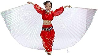 Nimiman Belly Dance ISIS Wings For Children Kids With Sticks
