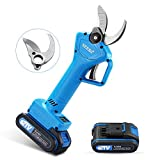 SEESII Professional Cordless Electric Pruning Shears Brance Cutter 1.26in (32mm) Cutting Diameter 21V
