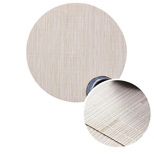 Beydodo Tapete Mesa PVC Manteles Individuales Juego 2,Mantel Individual 35CM X 35 CM,Color Sólido con...