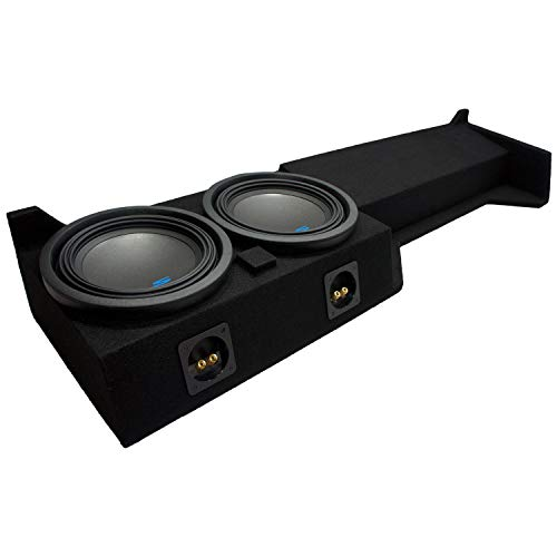 american sound connection car subwoofers Compatible with 2005 2006 2007 2008 2009 2010 2011 2012 2013 2014 2015 Nissan Frontier Crew Cab Alpine S-W10D2 Type S Car Audio Subwoofers Dual 10