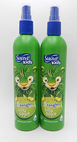 Suave Kids Apple Detangler Spray, 10.5 fluid. ounce, 2 Count
