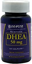 MRM Micronized DHEA 50mg 90 Capsules by MRM