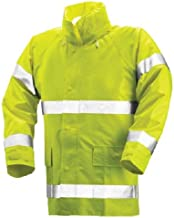 TINGLEY J53122 FR Rain Jacket, Hi-Vis Yellow/Green, S