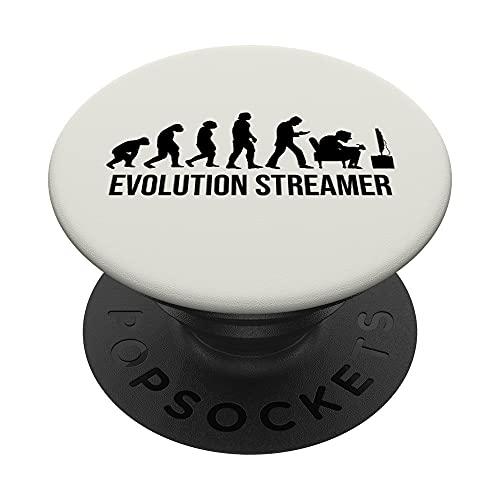 TV-Streaming Movie Evolution TV-series Internet TV-Streamer PopSockets PopGrip Intercambiable
