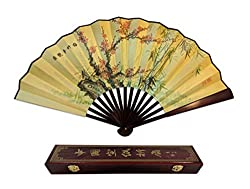 Folding Hand Fan Chinese Gifts