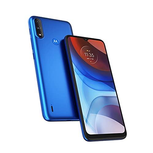 Motorola Moto E7 Power - Smartphone 64GB, 4GB RAM, Dual Sim, Tahiti Blue