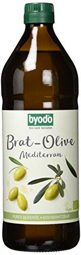 Byodo Brat-Olive Mediterran Bio Öl, 1er Pack (1 x 750 ml)