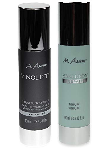 M. Asam® Vinolift® Straffungsserum 100ml + Hyaluron Repair Serum 100ml