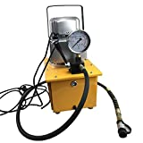 BoTaiDaHong 10000PSI 750W 7L Electric Driven Hydraulic Pump with Single Acting Manual Valve 1400r/Min for a Variety of Hydraulic equipments