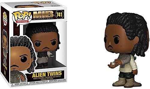 Funko- Figurines Pop Vinyl: Men in Black International: Alien Twins Collectible Figure, 38494, Multi