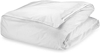 Claritin Ultimate Allergen Barrier Embossed Duvet Comforter Protector, with Zip-Off Cover to Defend Against Dust Mites, Pollen, Pet Dander and Other Household Allergens (King)
